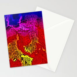 Plasma Burn Stationery Cards