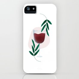 wine not iPhone Case