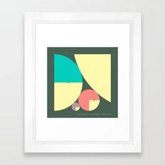 DESCARTES' THEOREM Framed Art Print