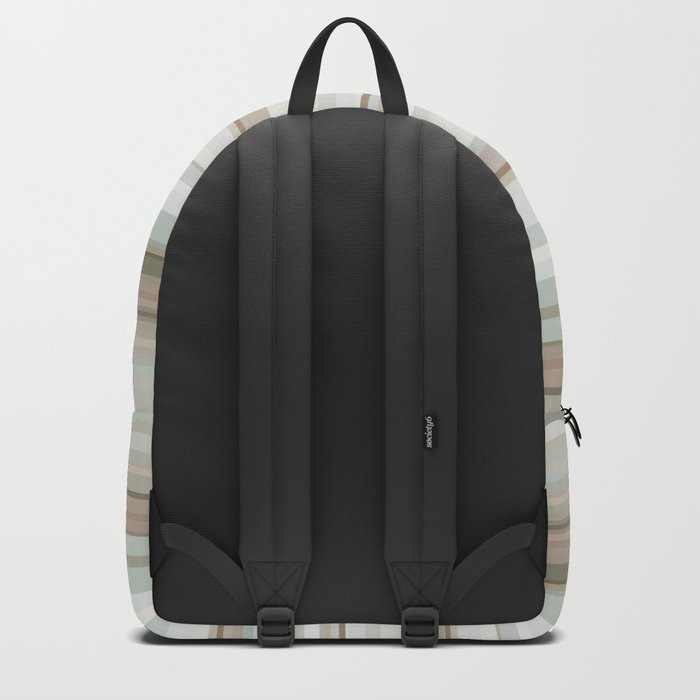 Classic stripes pattern Backpack