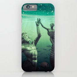 Gods of the Deep iPhone Case