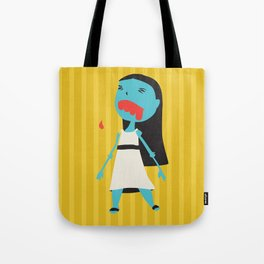 Zombie Janet Tote Bag