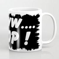 poop Mugs featuring AWWW... POOP ! by Robleedesigns