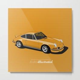 Porsche 911 2.7 RS Metal Print