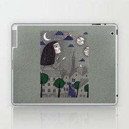 Above the Rooftops Laptop & iPad Skin