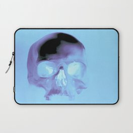 Cyan Skull Laptop Sleeve