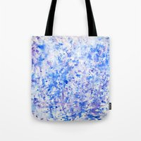 splatter Tote Bags featuring splatter by From Roxy
