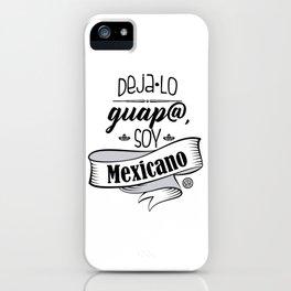 Deja lo Guap@ iPhone Case