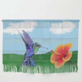 The very hungry hummingbird Wall Hanging