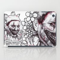 ahs iPad Cases featuring xoxo Twisty by marziiporn