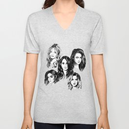 Pretty Little Liars Unisex V-Neck