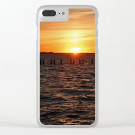 Moments of Serenity Clear iPhone Case