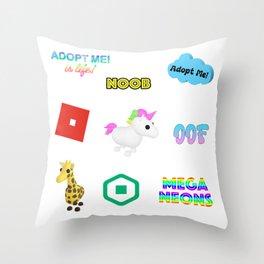 Roblox Adopt Me Throw Pillow
