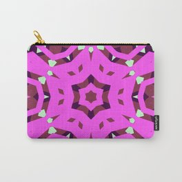CVPA20099 Benny Guttorm Pink Snowflake Carry-All Pouch