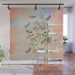 Dragonfly Dance Wall Mural