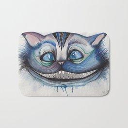 Cheshire Cat Grin - Alice in Wonderland Bath Mat