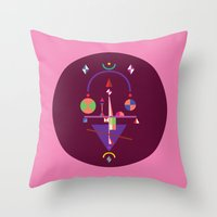nan lawson Throw Pillows featuring NaN by 0x17