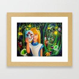 Kabuki Wonderland Framed Art Print