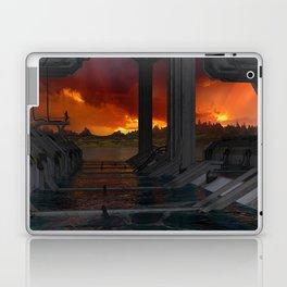 Drevos - Sci Fi - Sunset - Science Fiction - ZG 3D Laptop & iPad Skin