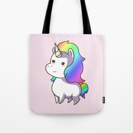 Super Cute Rainbow Unicorn Kawaii Tote Bag