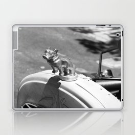 Bulldog Hood Ornament Laptop & iPad Skin