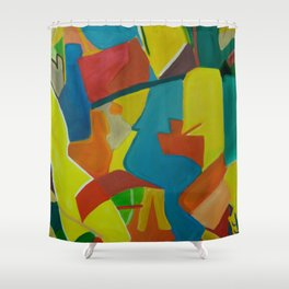 Patio Italiano Shower Curtain
