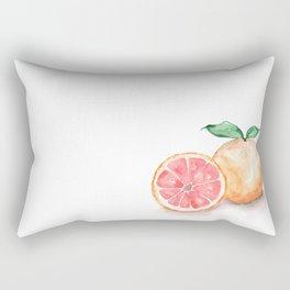 Watercolour Grapefruit Rectangular Pillow