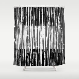 Abstract Composition 691 Shower Curtain