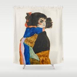 """Egon Schiele """"Moa"""" Shower Curtain"""