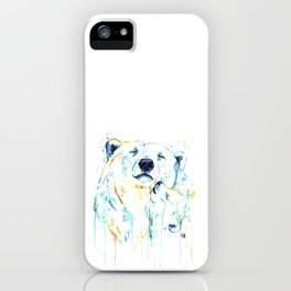 Polar Bear Unconditional Love iPhone Case