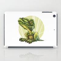 dinosaur iPad Cases featuring Dinosaur by SansArt
