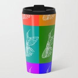 Rainbow Hummingbirds Travel Mug