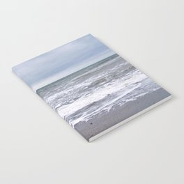 Cloudy Day on the Beach Notebook