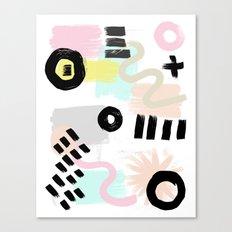 Ink Perception 003 Canvas Print