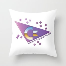 Computer C64 Throw Pillow