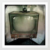 tv Art Prints featuring television by Jean-François Dupuis
