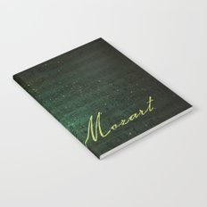 Wolfgang Amadeus Mozart Notebook