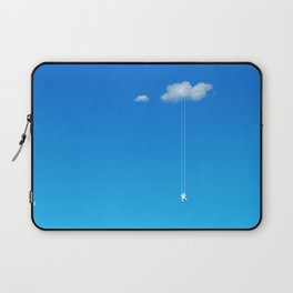 Swing in the clouds Laptop Sleeve