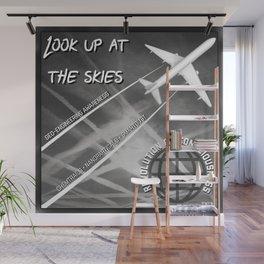 Look up at the Skies (Geo-Engineering) Wall Mural