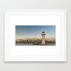 Light House Framed Art Print