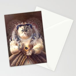 Cat Queen Stationery Cards