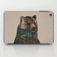 lake iPad Cases featuring Bear Lake by Davies Babies