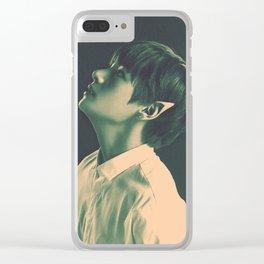 YNWA Elf Tae Clear iPhone Case
