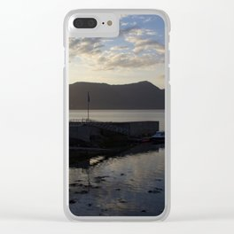 Scotish Sunset Clear iPhone Case