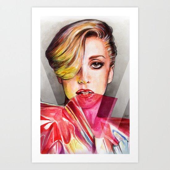 V Mag Art Print