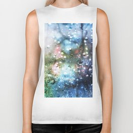 Rain Thoughts Biker Tank