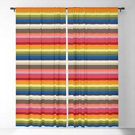 Stripes | Pantone Fashion Colors 2019 | London | Blackout Curtain