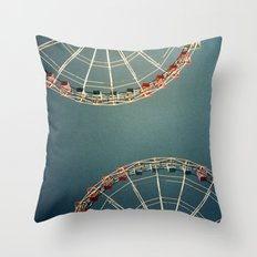 Anything back to the same place Throw Pillow