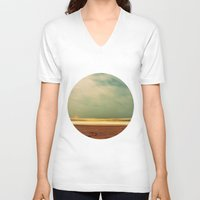 salt water V-neck T-shirts featuring salt water story by gypsy's heirloom