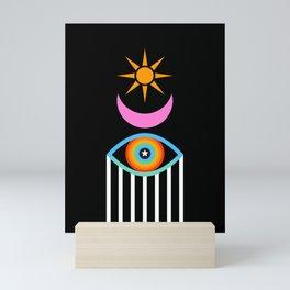 Summer Totem Mini Art Print